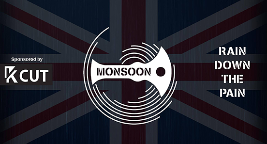 Monsoon's 2018 pit banner